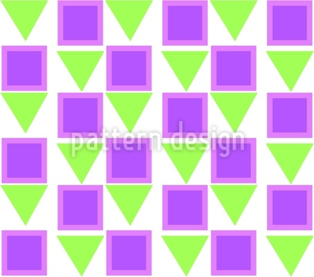 Little Triangles Vector Pattern