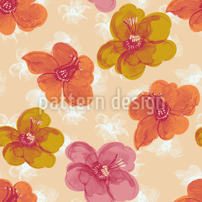 Brisk Flowers Pattern Design