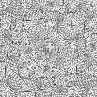 Linien Bewegen Nahtloses Vektormuster