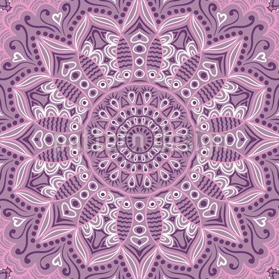 Florale Romanze Vektor Design