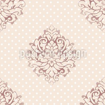 Mademoiselle Pompadour Vector Design