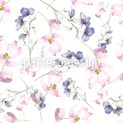 Flower Fairies Pattern Design