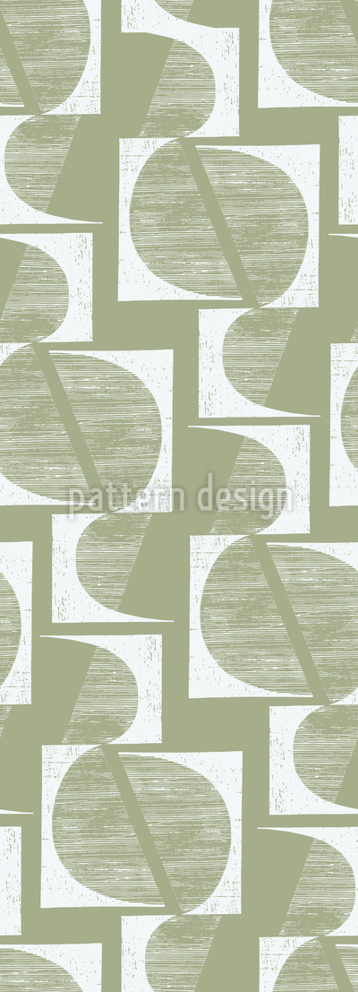 Bauhaus Geometrie Nahtloses Muster