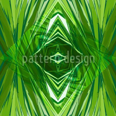 Crystal Jungle Repeat Pattern