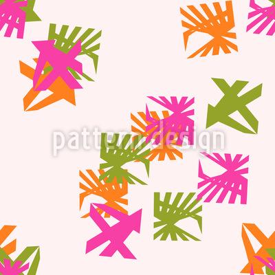 Winkel Quadrate Nahtloses Muster