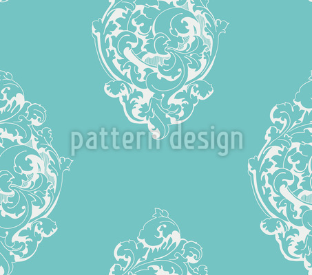 Biedermeier Floral Repeat Pattern