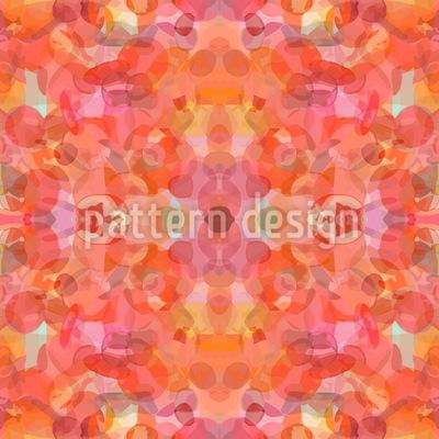 Petal Kaleidoscope Vector Ornament