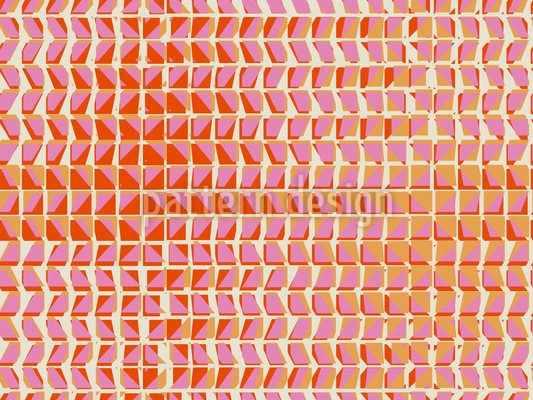 Uruhige Vibration Nahtloses Vektor Muster