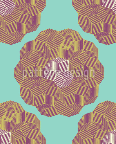 Quarz Floral Vektor Design