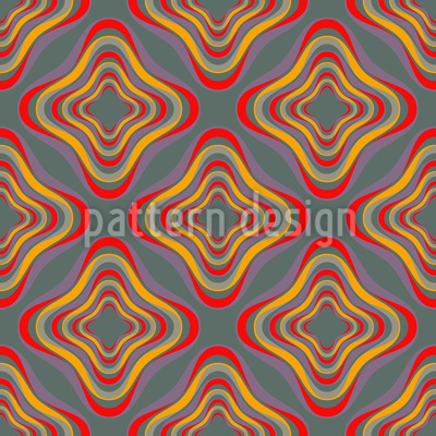 Gelee Quadrat Nahtloses Vektor Muster