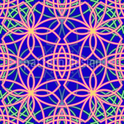 Metro Floral Repeat Pattern