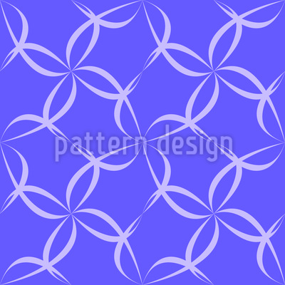Blütenzaun Designmuster