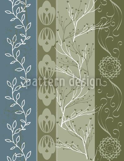 Cottage Vierfarbig Vektor Design