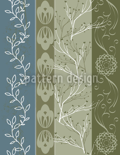 Four-Colour Cottage Vector Design