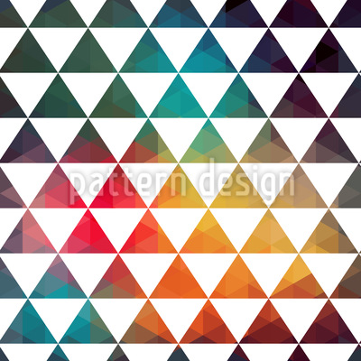 Radioaktive Farbgeometrie Nahtloses Vektormuster