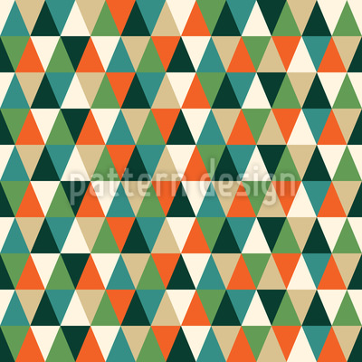 Trails Of The Triangles Seamless Vector Pattern