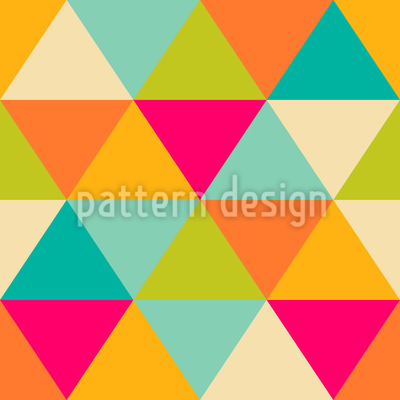 Triangles Seamless Vector Pattern Design