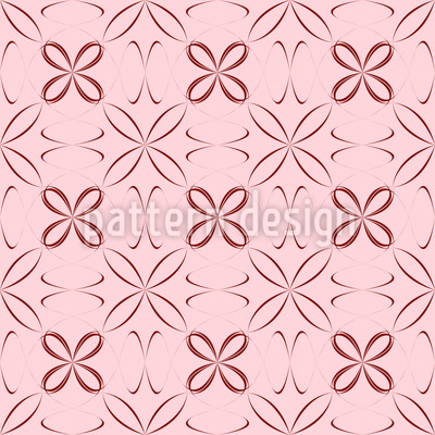 Sheer Flowers Pattern Design