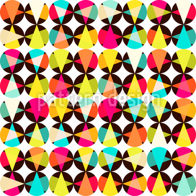Pointing Out Rio Seamless Vector Pattern Design