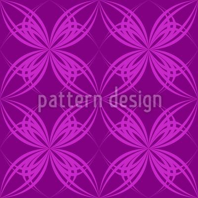 Blüten Symmetrie Vektor Design