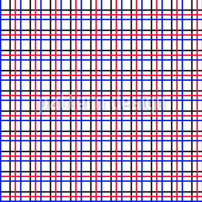 Klassisches Karo Vektor Muster