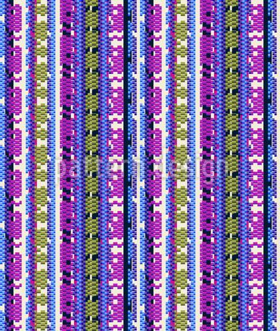 Animalprint Streifen Nahtloses Muster
