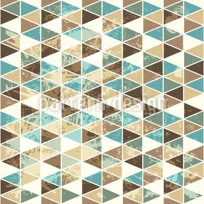 Dreieck Mosaik Rapportmuster