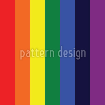 Healing Rainbow Seamless Vector Pattern Design