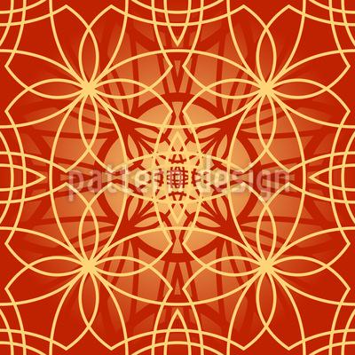 Magna Flora Repeating Pattern