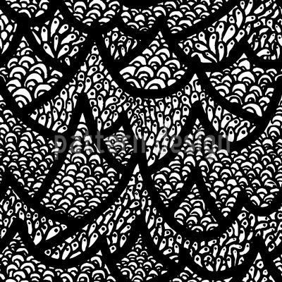 Up The Hills Pattern Design