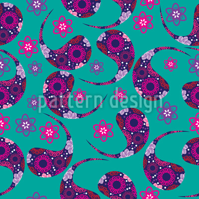 Paisley Dream Vector Pattern