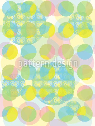 Pixel Und Punkt Vektor Muster
