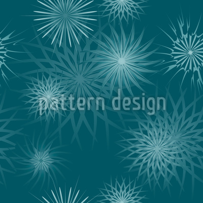 Frostwork Seamless Vector Pattern Design