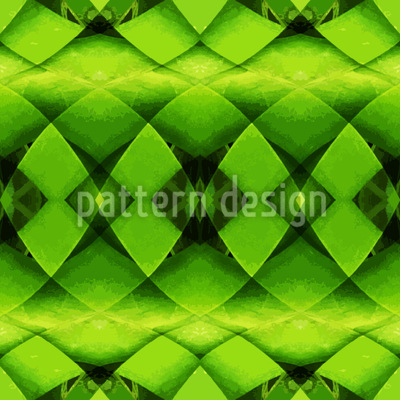 Woven Jungle Seamless Pattern