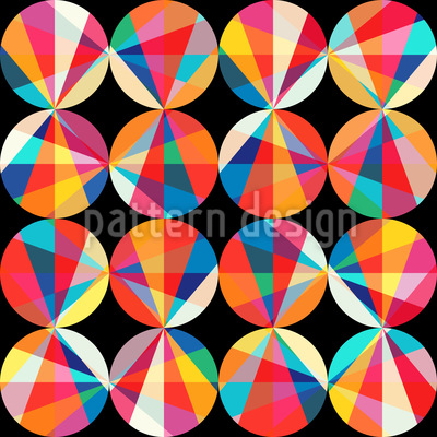 Die Spektren Der Kreise Rapportiertes Design