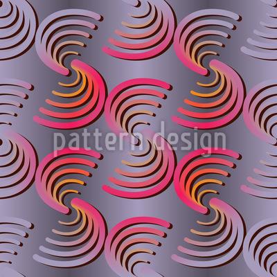 Half Circle Couples Repeat Pattern
