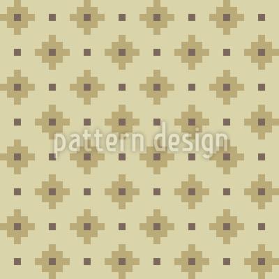 Quadrat Kreuze Designmuster