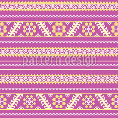 Latvian Summer Repeat Pattern