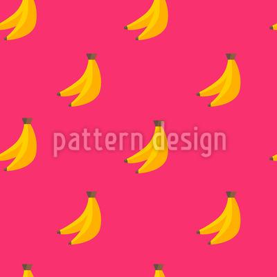 Bananen Nahtloses Vektormuster
