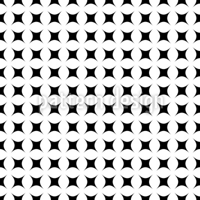 Schwarz Weiss Denken Nahtloses Vektor Muster