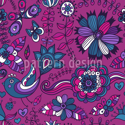 Eastern Paradise Repeat Pattern