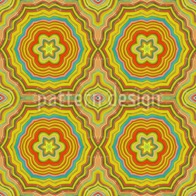 Herbst Kaleidoskop Vektor Design