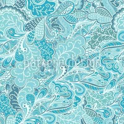 Eisblumen Fantasien Musterdesign