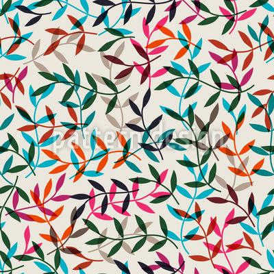 Die Blätter Sind Gefallen Designmuster