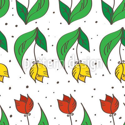Tulpenglück Musterdesign