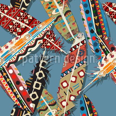 The Feathers Of Winnetou Vector Design