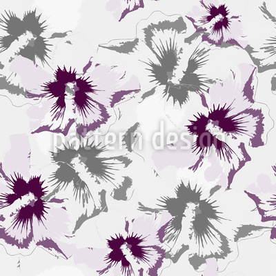 Hibiscus Dreams Seamless Pattern