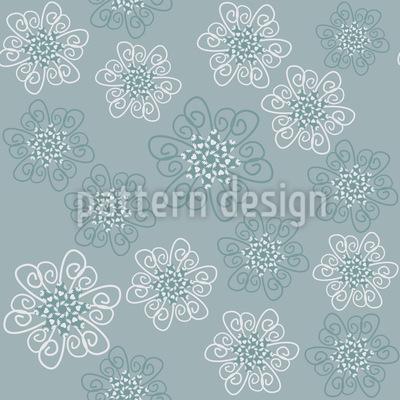Les Fleurs Parisiennes Repeating Pattern