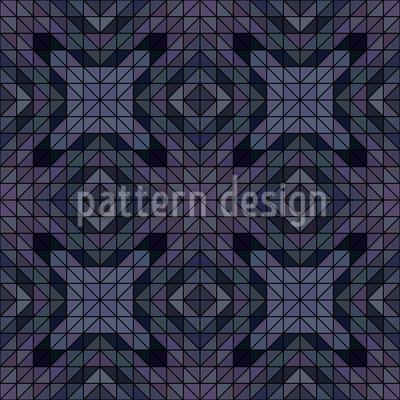 Geometric Dusk Repeat Pattern