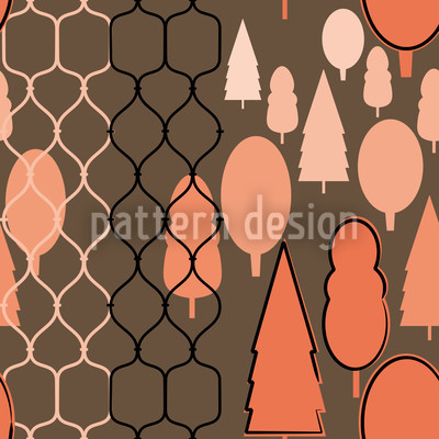 Fency Forest Seamless Pattern